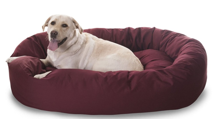 Magestic Bagel Dog Bed